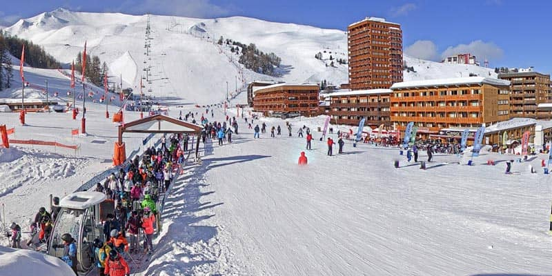 Webcam La Plagne Centre