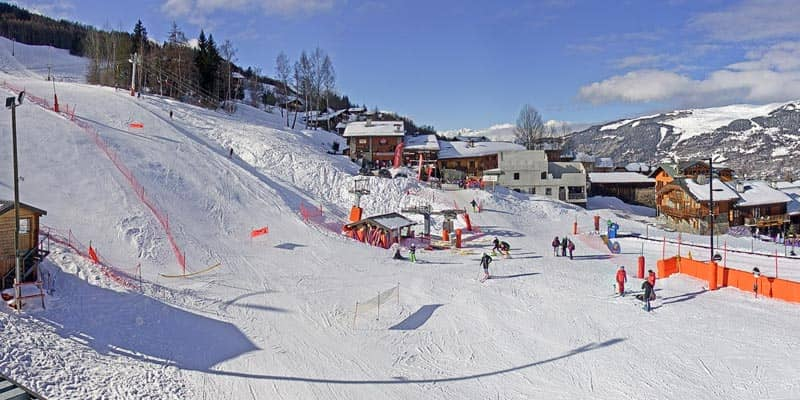Webcam La Plagne Montalbert